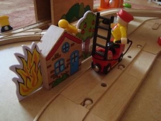 Brio Light and Sound Fire Engine