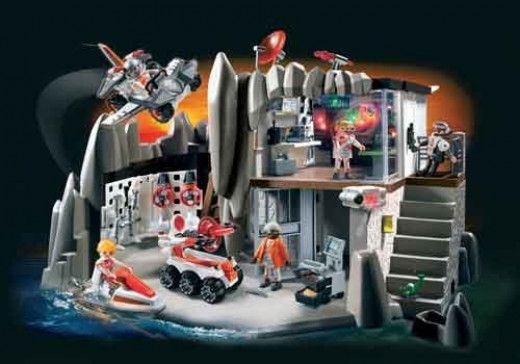 Playmobil 4875 Agents Headquarters