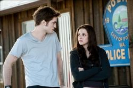 Bella speaking with Edward