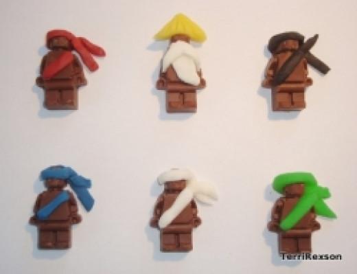 Chocolate Ninjago Ninjas