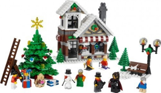 Lego Winter Village Toy Shop