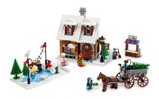Lego Winter Village Bakery