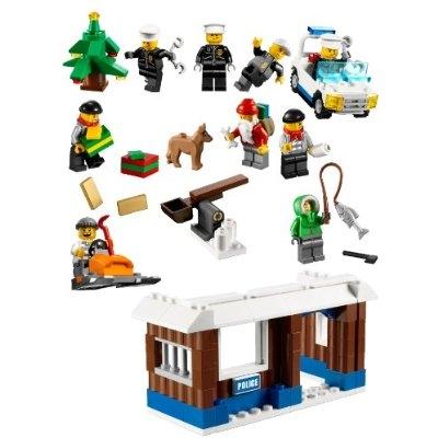 Lego City Advent Calendar 7553