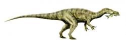 Baryonyx Dinosaur Clipart