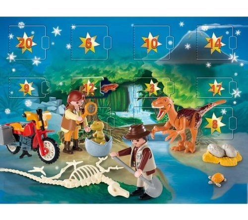 Playmobil Dinosaur Expedition Advent Calendar