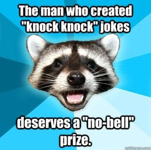The Lame Pun Coon
