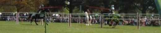 Medieval Jousting at Wrest Park