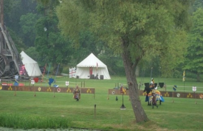 Medieval Jousting at Warwick Castle