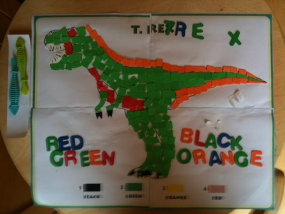Dino Dan T-Rex Foam Mosaic