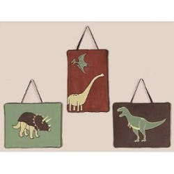 dinosaur wall hangings
