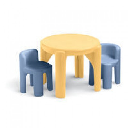 Little Tikes Table And Chairs Set (Soft Colors)