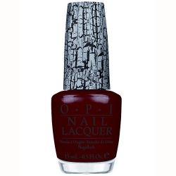Red Shatter Nail Polish