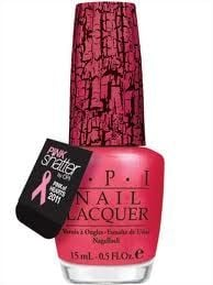 Pink Shatter Nail Polish