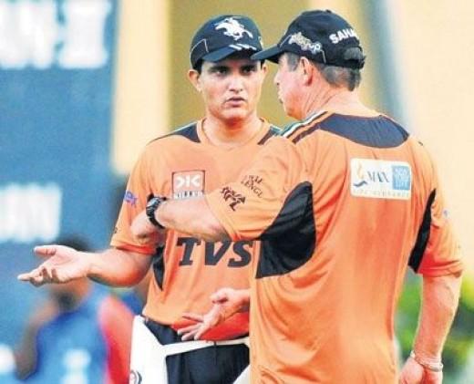 Ganguly  in IPL4