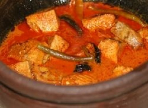 South Indian Recipe Allepey Fish Curry