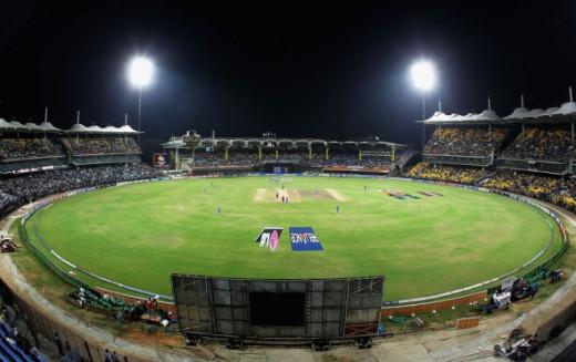 MA Chidambaram Stadium in Chennai.