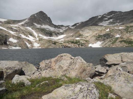 blue lake indian peaks wilderness