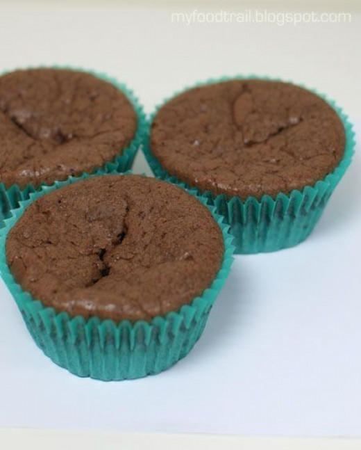 Another gluten free cupcake recipe found at myfoodtrail.blogspot