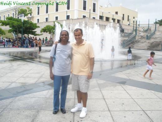 Plaza de Quinto Centario - Old San Juan - Puerto Rico