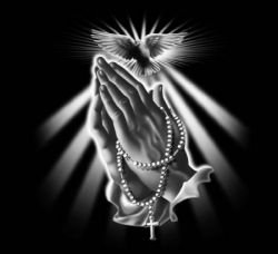 Holy Rosary - Praying Hands - Holy Spirit