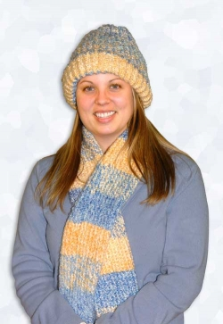 Provo Craft Knifty Knitter Scarf