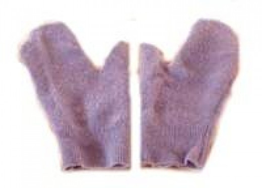 Reuse Sweater for Mittens