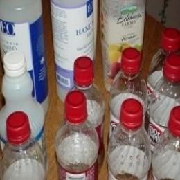 How to reuse your plastic bottles for crafts feltmagnet for Handicrafts made of plastic bottles