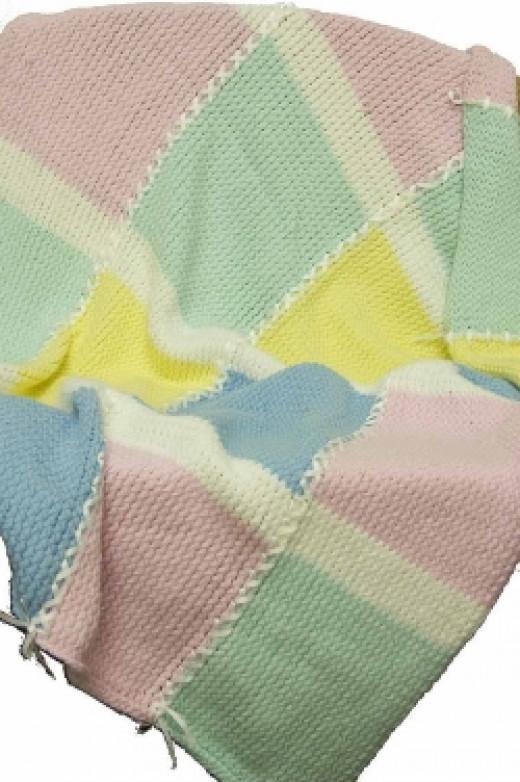 Knifty Knitter Baby Blanket