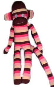 Sock Monkey Project from Old Socks