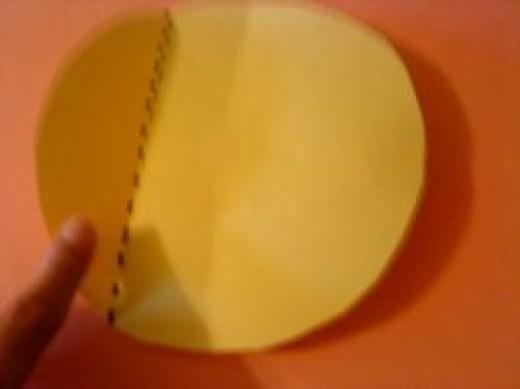 Non-symmetrical Part of a Shape