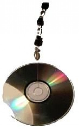 Reuse a CD as a Sun Catcher