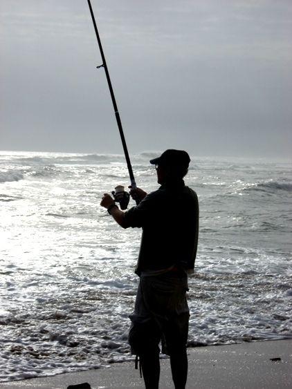 Fishing in the Knysna lagoon