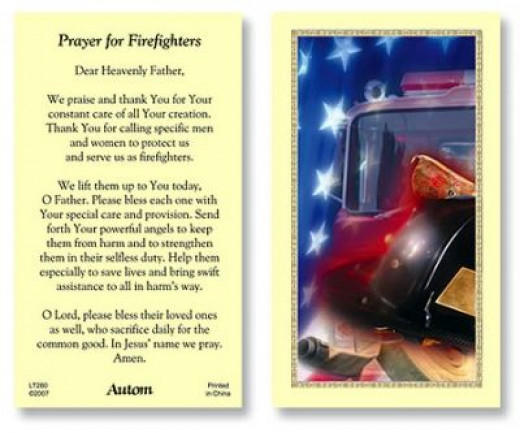Prayer for Firefighters