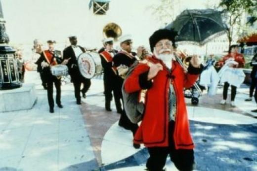 Papa Noel Celebrates Christmas New Orleans Style. Photo courtesy of David Richmond and NewOrleansOnline.com