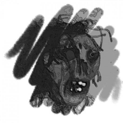 Zombie Photoshop Brush