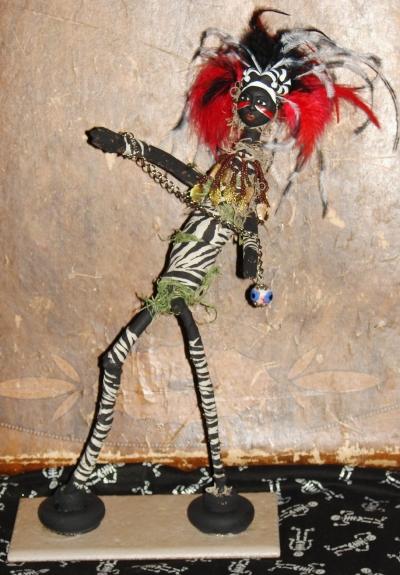 Djab, Wild Voodoo Spirit Doll