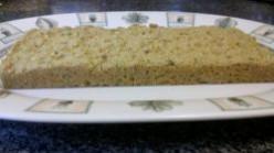 Sunflower Seed & Quinoa Flour Flatbread (Vegan, Gluten Free)