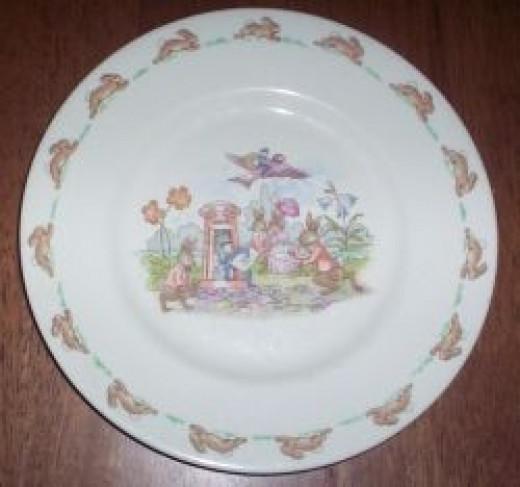Bunnykins Plate