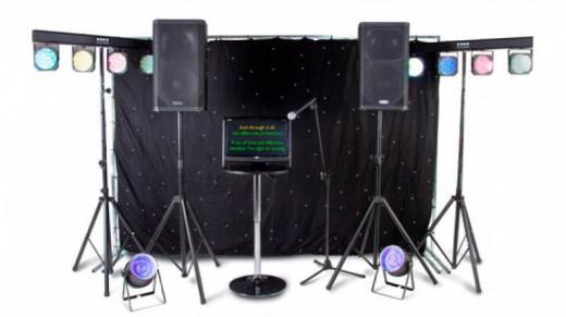 Smaller Karaoke / DJ System