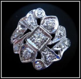 Antique hand-cut Diamond ring