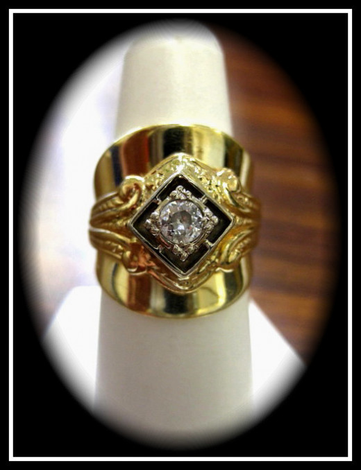 Custom creation - Diamond ring made by me