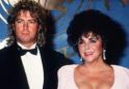 Larry Fortensky and Elizabeth Taylor(Husband #7, Marriage #8)