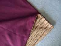 Memory Quilt - Couch Comfy Maroon