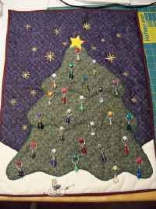 Memory Quilts - Quilted Advent Calendars