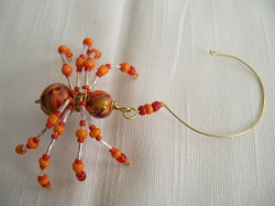 The Christmas Spider - Orange Red