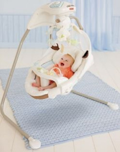 fisher price little lamb swing instructions