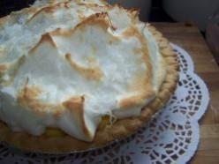 Easy Coconut Cream Pie Recipe.