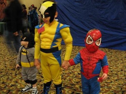We Should Start Acknowledging More Superhero Kids!