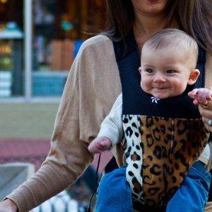 Baby Belle Leopard Carrier - Leopard Print Baby Gear
