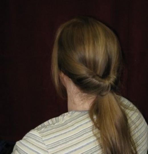 retro ponytail